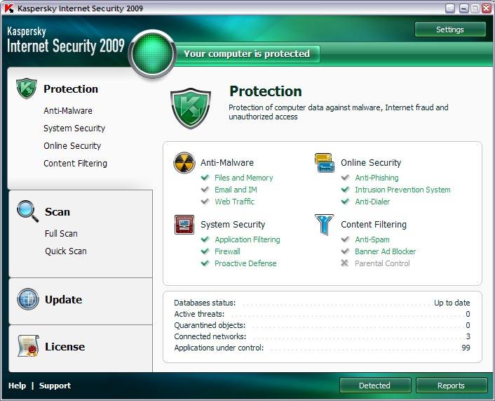 Kaspersky Internet Security | Download | Hardware Upgrade