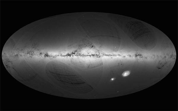 Astronomia, da Gaia prime tessere per mappa 3D della Via Lattea