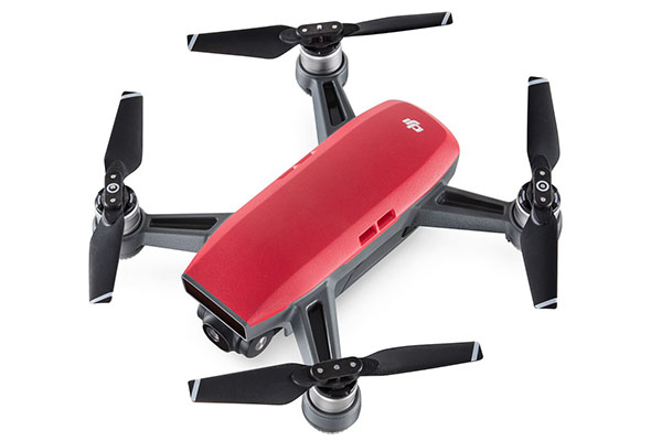 DJI Spark in livrea rossa 'Lava Red'