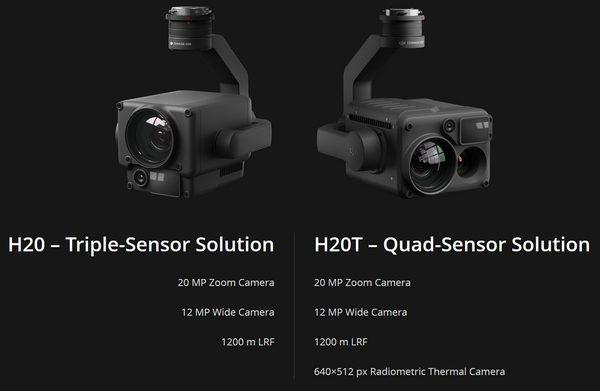 DJI fotocamere drone