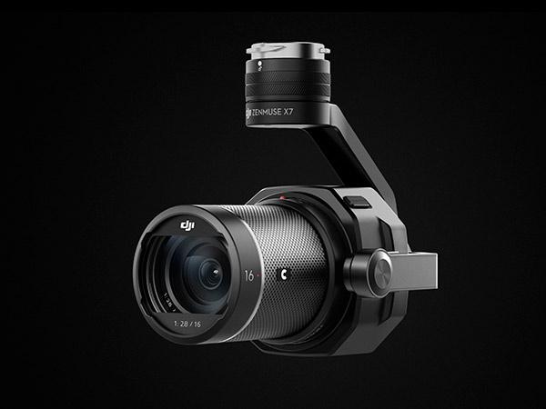 DJI Zenmuse X7 e ottica 16mm F2.8