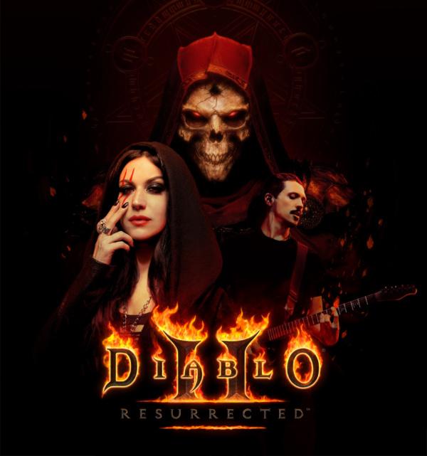 diablo 2 resurrected tributo metal