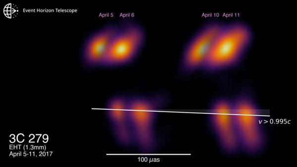 eht event horizon telescope