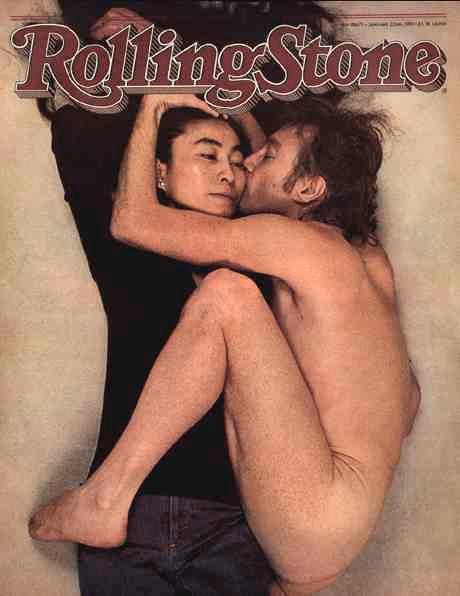 John Lennon e Yoko Ono - Annie Leibovitz