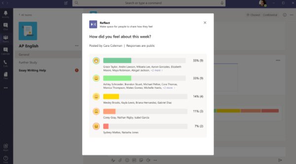 microsoft teams reflect extension