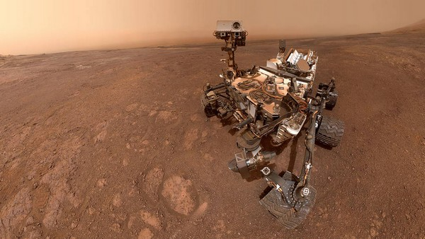 NASA Curiosity metano