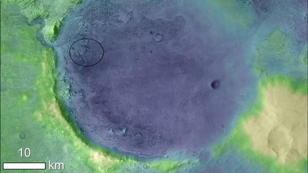 NASA Mars 2020 Jezero