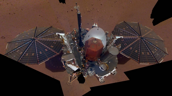 NASA InSight Selfie