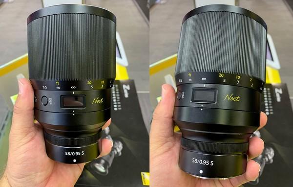 Nikkor f/0.95 Nikon Z