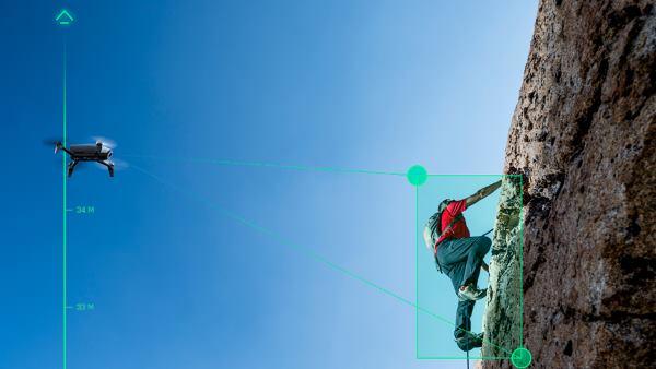 Parrot BeBop Drone 2 con funzioni di tracking e follow me