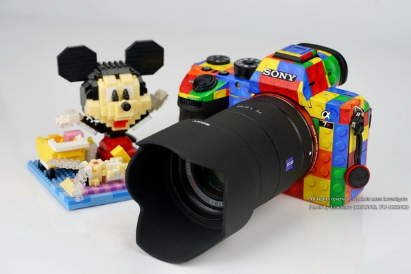 Sony A7 III cover LEGO