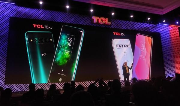 smartphone TCL CES 2020