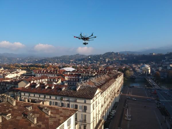 TIM droni torino