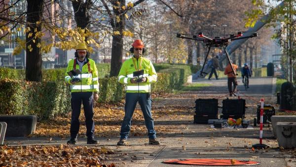 Torino TIM drone