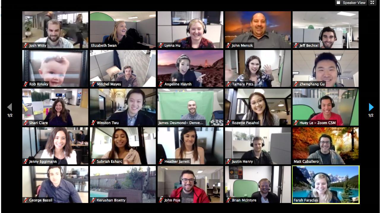 videoconferenze partecipanti smart working