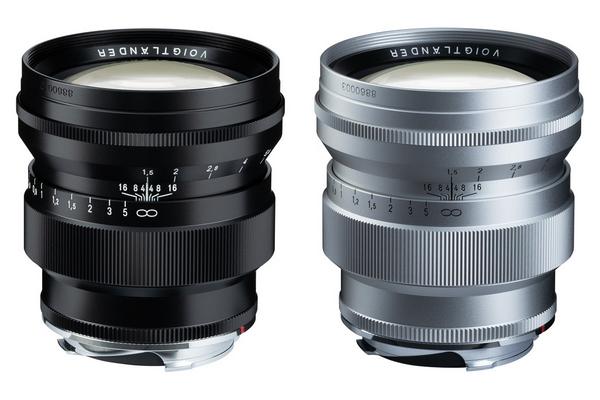 Voigtlander 75 mm f/1.5