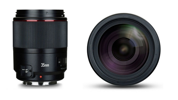 Yongnuo 35 mm canon
