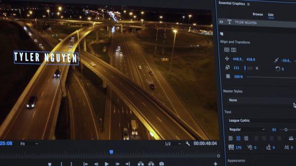 Adobe Première CC 2017 Motion Graphics template