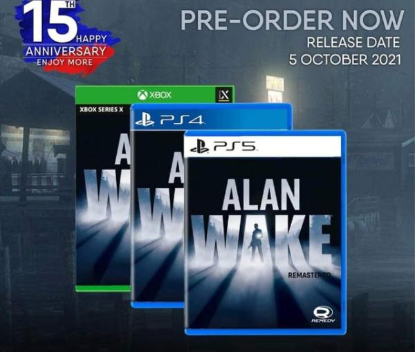 alan wake remastered preorder ottobre