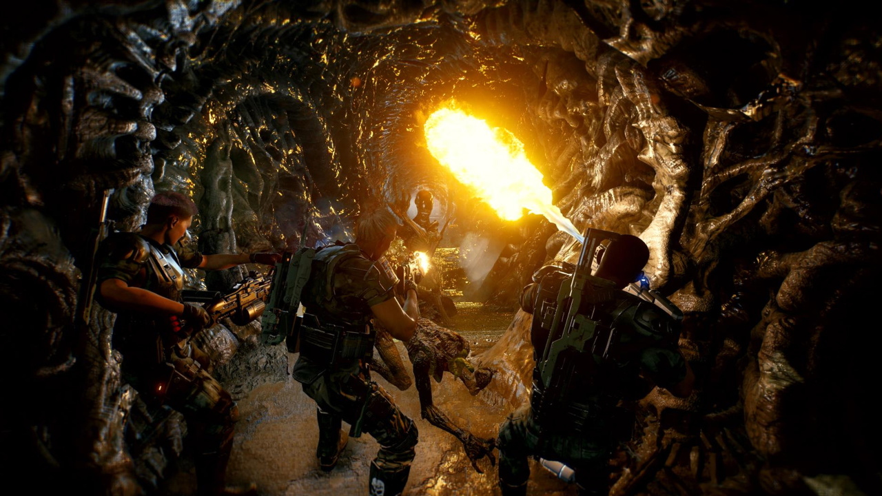 aliens fireteam cold iron studios