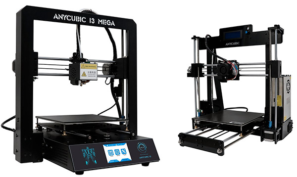 Anycubic Upgraded Prusa i3 e Anycubic 3D i3 Mega