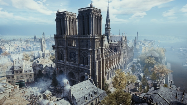Assassin's Creed Unity gratis su PC: Ubisoft in aiuto di Notre-Dame