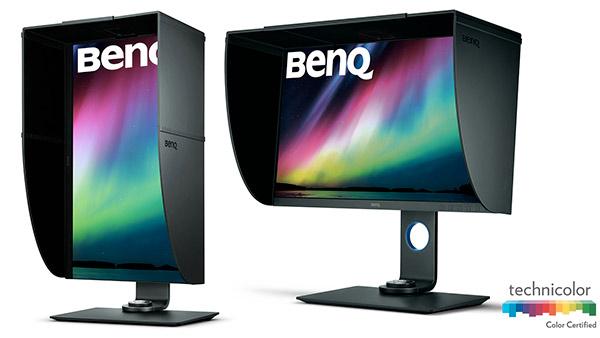 BenQ SW271, un 27 pollici UHD 4K che supporta lo standard HDR10