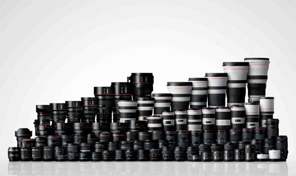 Canon EF - 130 milioni di ottiche prodotte