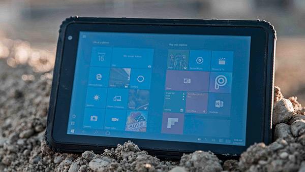 Da Bullitt il tablet Windows 10 LTE con GPS Caterpillar T20