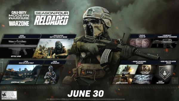 call of duty modern warfare stagione 4 reloaded