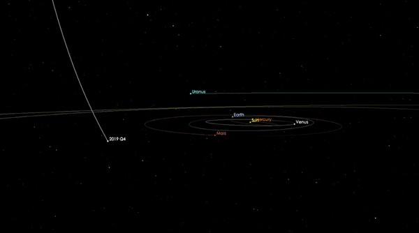 cometa nasa interstellar 2019