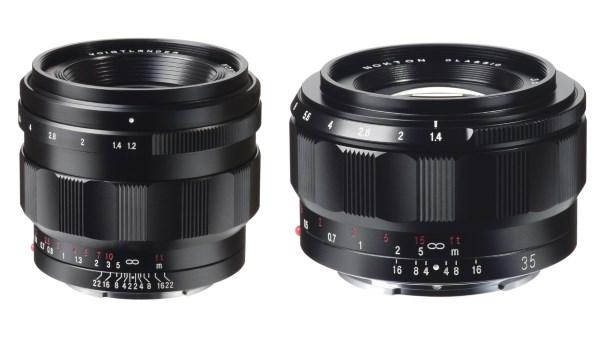 Cosina Voigtlander Nokton 40mm F1.2 e 35mm F1.4