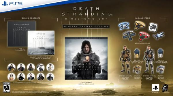 death stranding director's cut deluxe edition