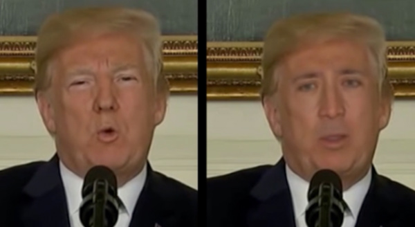 deepfake donald trump nicholas cage
