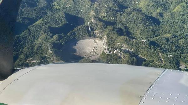 danni al radiotelescopio