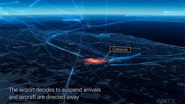 Traffico aereeo sospeso a Gatwick a causa di un avvistamento di un drone