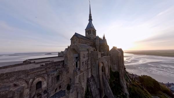 drone mont saint-michel