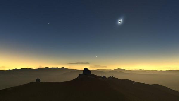 Eclissi solare luglio 2019