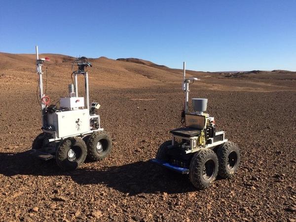 ESA rover marte