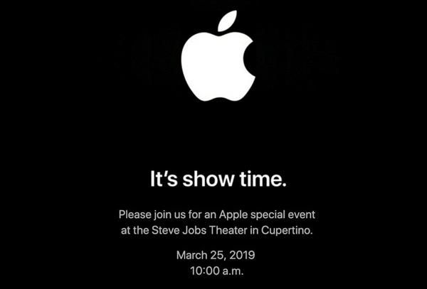 Evento Apple Marzo 2019