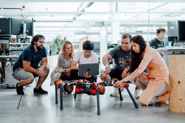 Facebook robot AI