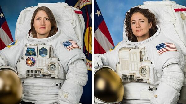 female spacewalk 2019