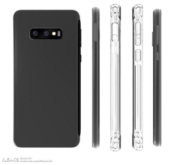 Galaxy S10 Lite render