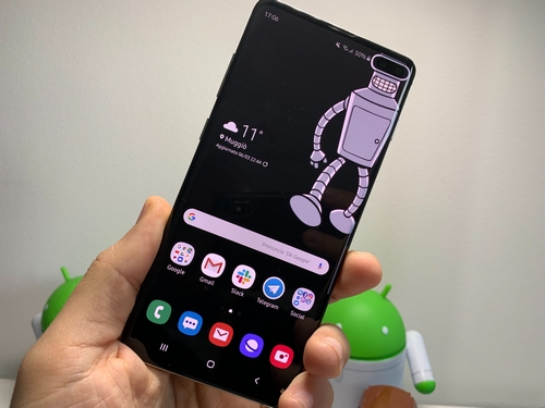 Galaxy S10 Ecco I Wallpaper Per Il Vostro Display Infinity O