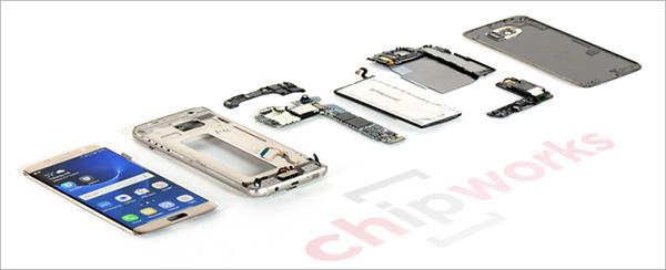 Samsung Galaxy S7 edge teardown+