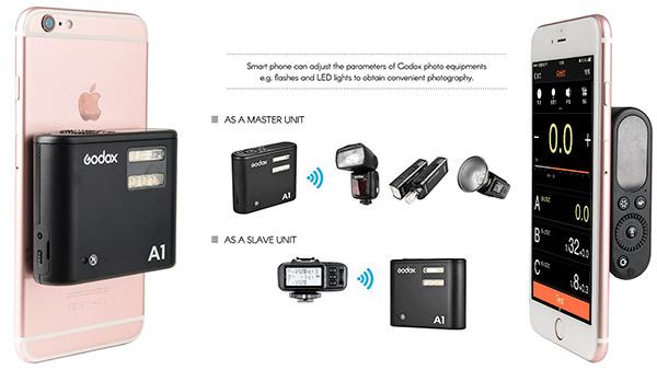 Godox A1 smartphone flash trigger