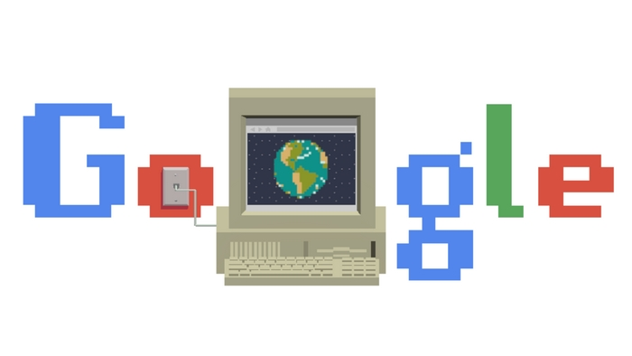 google doodle world wide web