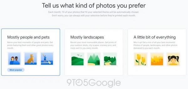 google foto stampa