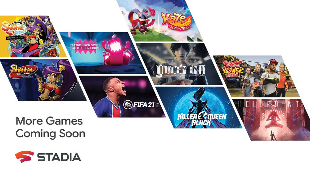google stadia giochi 2021