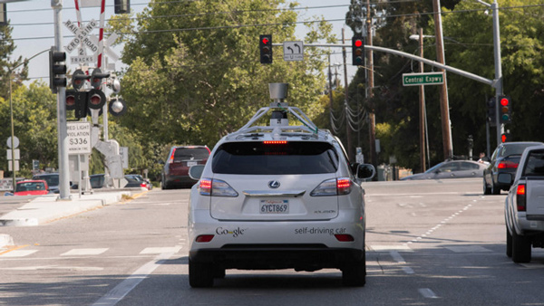 Google car, auto a guida autonoma